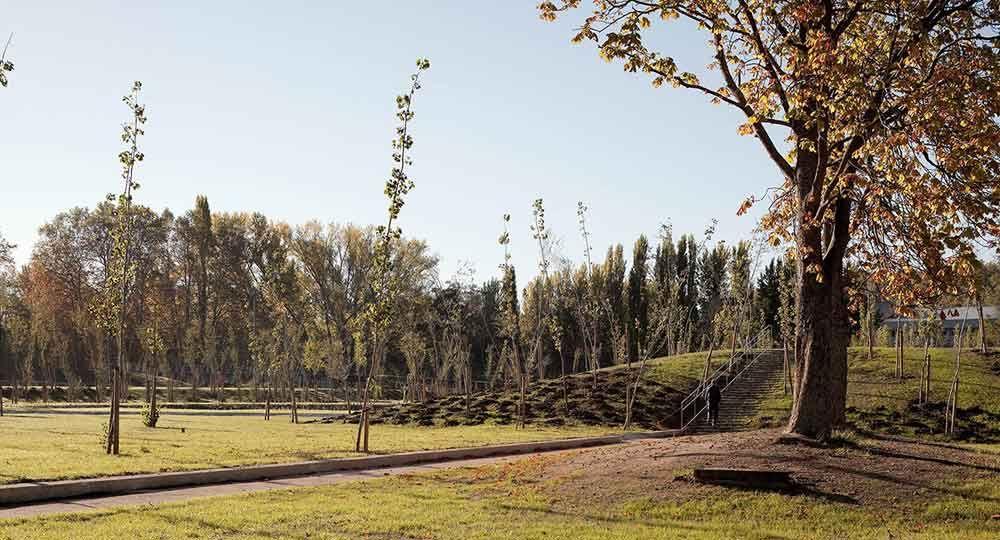 Parque de Aranzadi, por Aldayjover Arquitectura y Paisaje