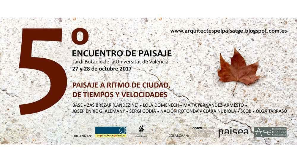Arquitectes pel Paisatge organiza su 5º encuentro en el Jardí Botànic de València