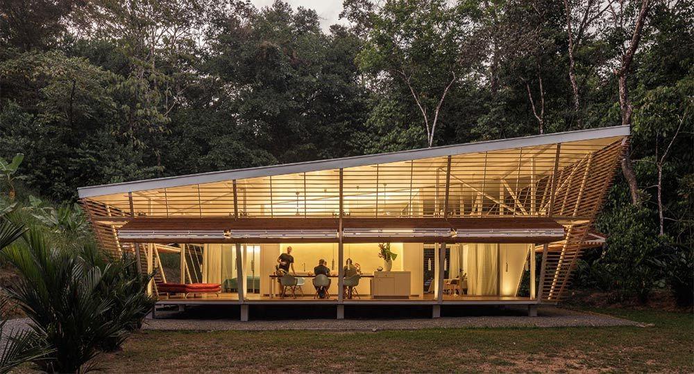 Arquitectura prefabricada y sostenible para climas tropicales