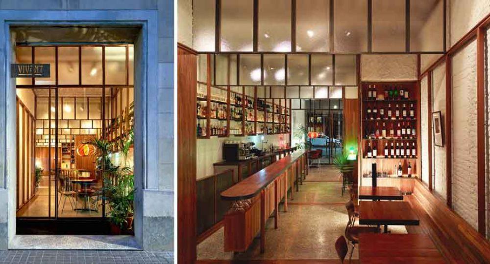 Restaurante Vivant, por Marcos Catalán y Anna Badia Arquitectura
