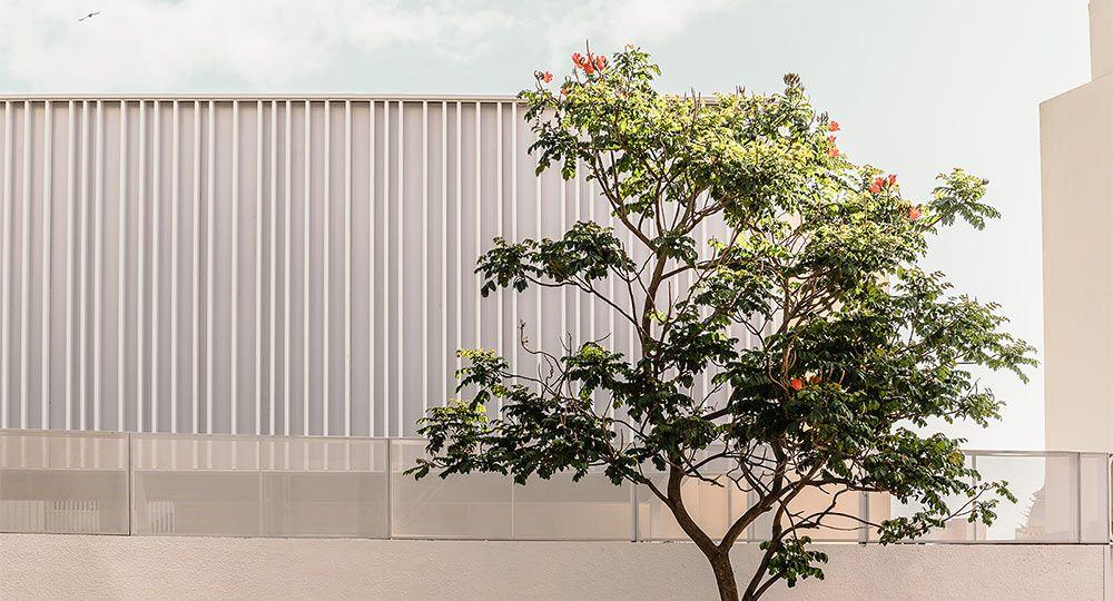Arquitectura versátil: cubierta ligera y desmontable