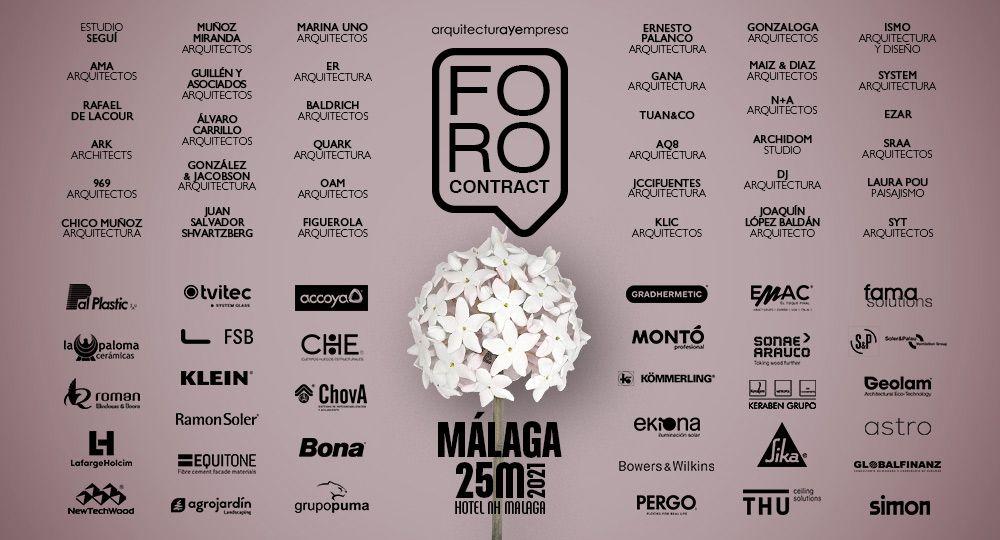 AyE   Foro Contract   MÁLAGA   25 Marzo 2021