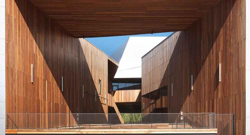 SMAc Centro de Música Moderna por Hérault Arnod Architectes