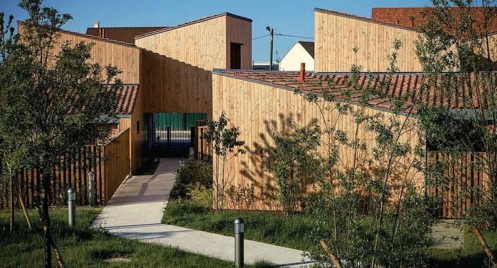 60 Viviendas sociales en Chanteloup-en-Brie, por Jean et Aline Harari Architecture