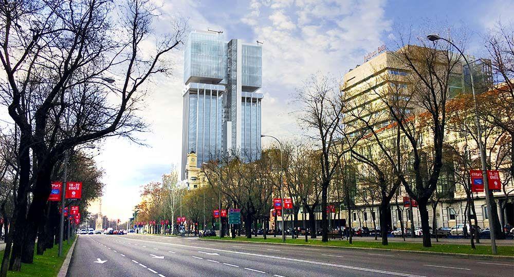 Torres de Colón: Edificio de Consumo Casi Nulo