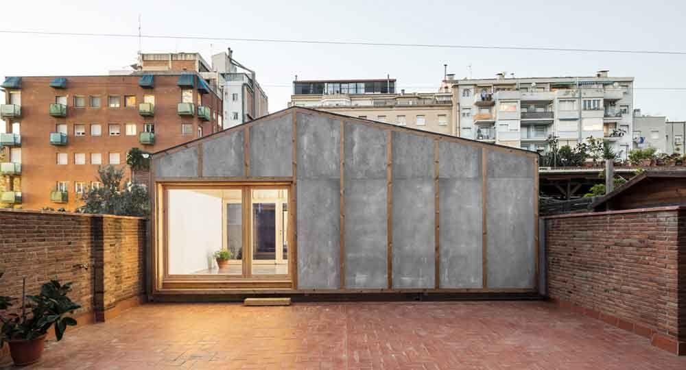 Pabellón Ramon Mar, por Vora Arquitectura
