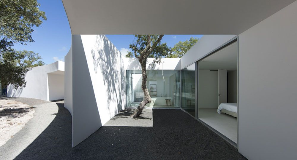 Aires Mateus: arquitectura que abraza la naturaleza