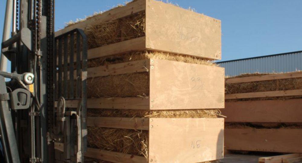 Arquitectura Sostenible: Paneles prefabricados de paja alfaWALL