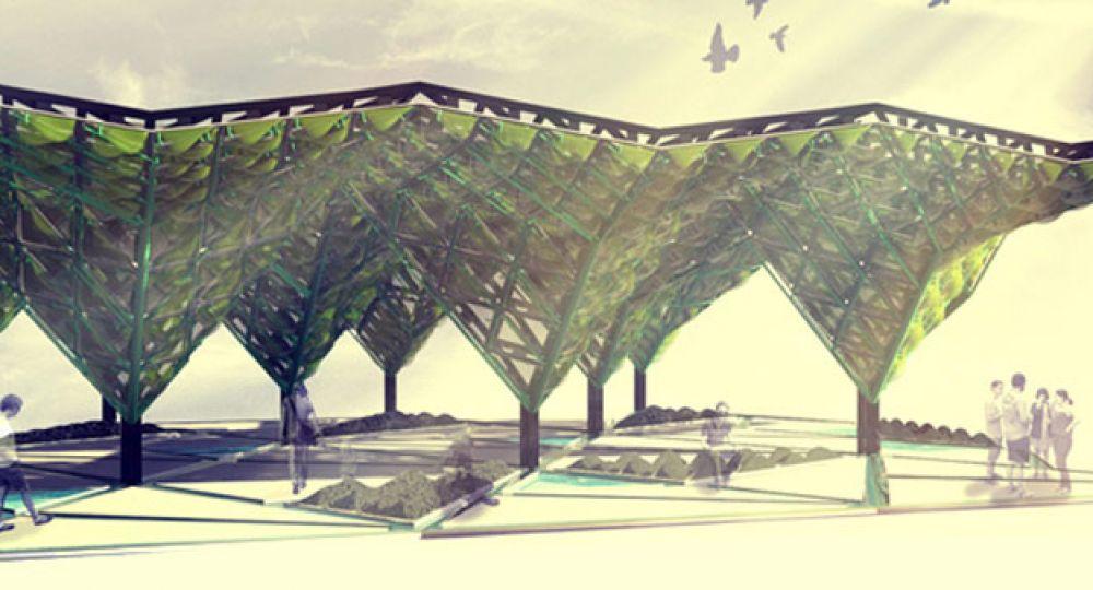 Revestimiento ecológico en la EXPO Milano 2015