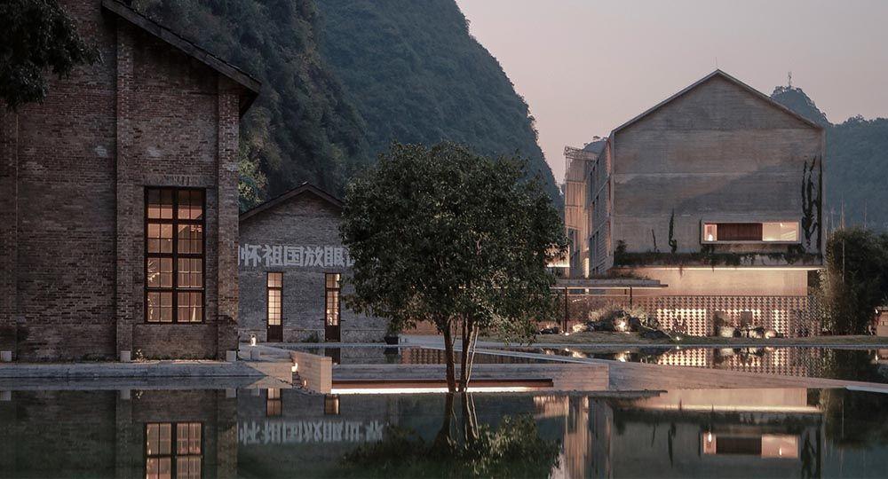 De fábrica de azúcar a hotel: el proyecto Alila Yangshuo, de Vector Architects