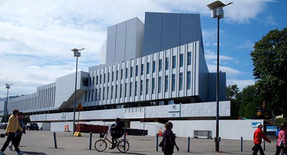 La arquitectura de Alvar Aalto en Helsinki. Finlandia Hall.