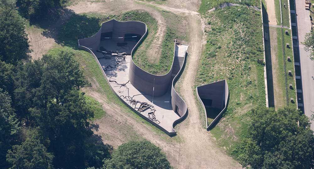 Fort Vechten Waterline Museum, Utrecht, de Anne Holtrop. Arquitectura camuflada.