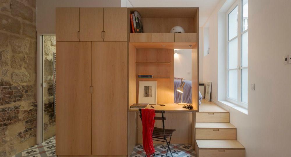 Apartamento bajo tierra. Arquitectura parisina