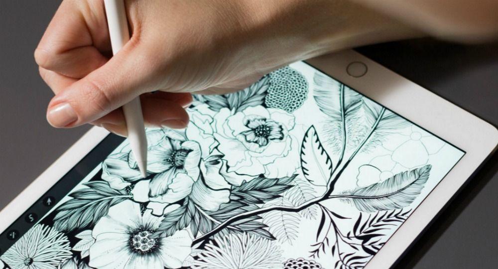 Apple Pencil. El dibujo a mano alzada se eleva a un nivel tecnológico superior
