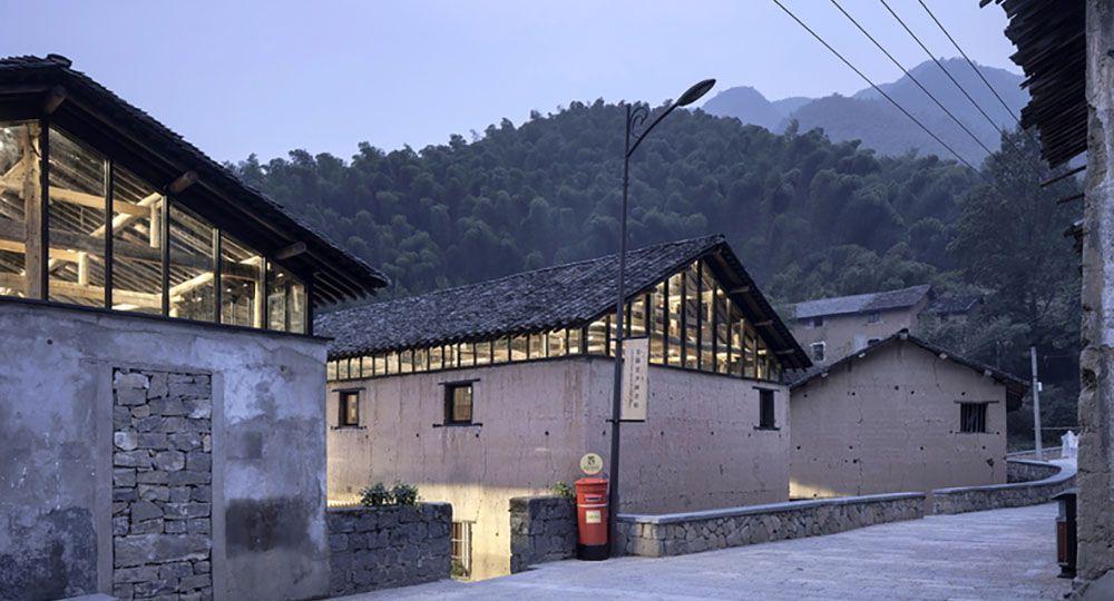 La arquitectura rural de AZL Architects: biblioteca Avant-Garde Ruralation.