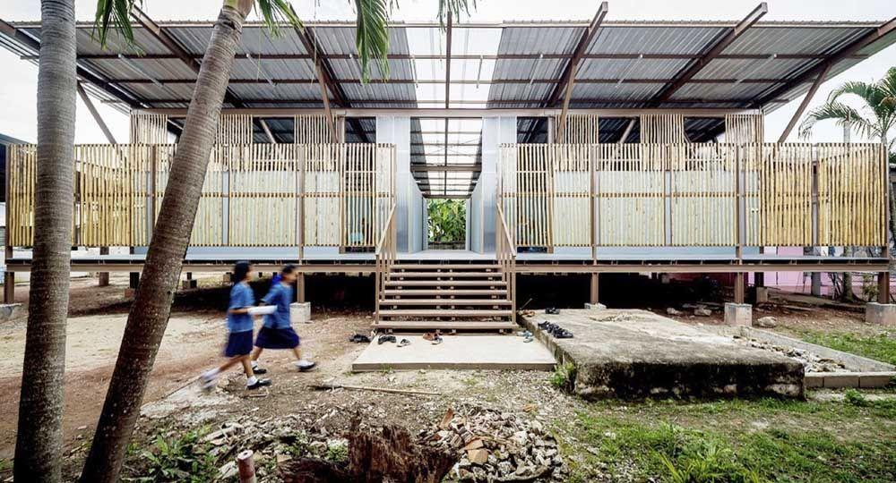 La escuela Baan Nong Bua de Jun Sekino: arquitectura después de la catástrofe
