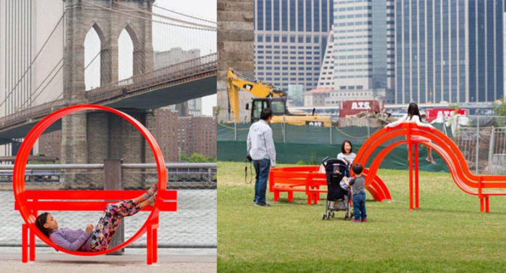 Mobiliario urbano con concepto artístico, Jeppe Hein
