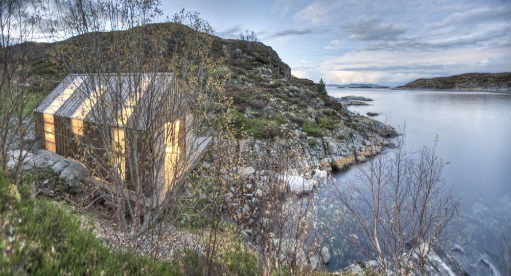 Naust paa Aure: Arquitectura transformación de casa- barco a estancia de verano.