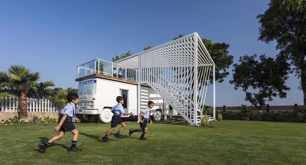 BAVILION, un memorial ejemplo de reciclaje y arquitectura sostenible en India, Studio Ardete.
