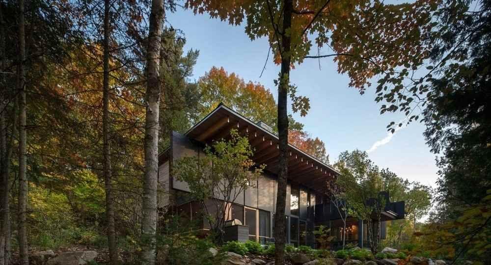 Refugio de lujo: The Bear Stand, del estudio de arquitectura Bohlin Cywinski Jackson