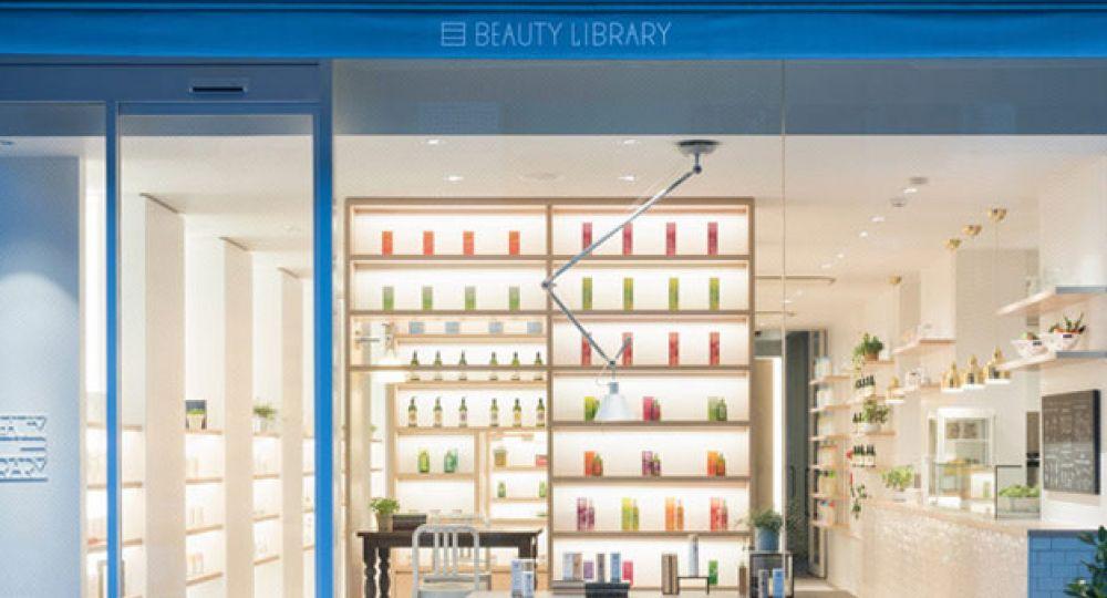 Beauty Library, arquitectura interior dedicada a la cosmética natural