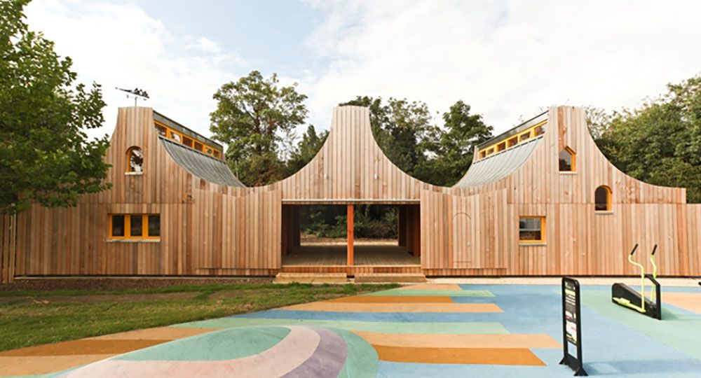 Arquitectura, atención a la diversidad e integración en la naturaleza: Belvue School, Northolt. Studio Weave.