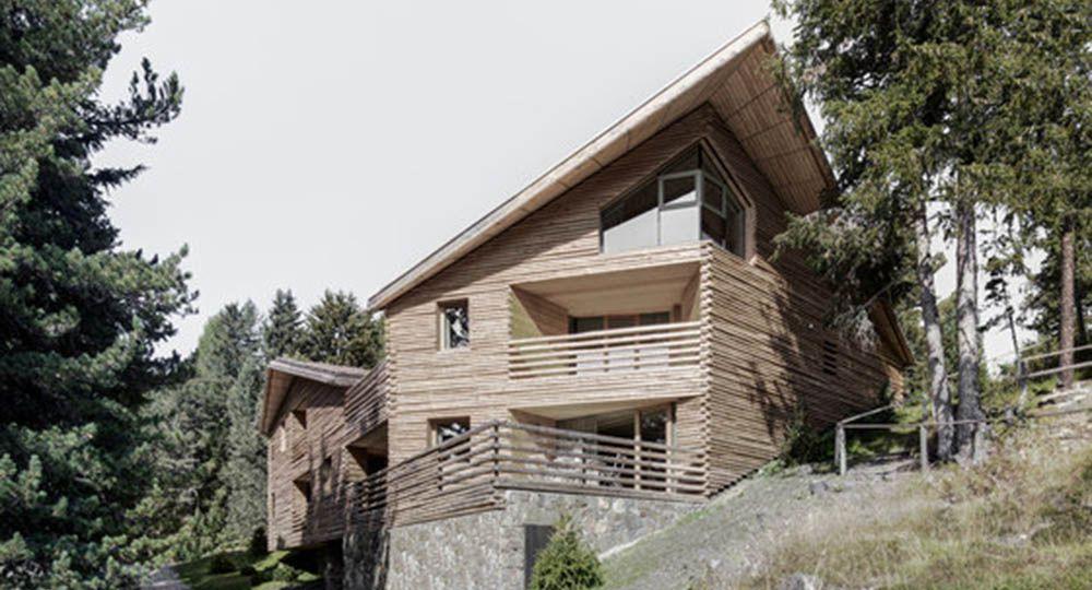 Cinco apartamentos vacacionales en Plose, Italia. Bergmeisterwolf y A Saggio arquitectos.