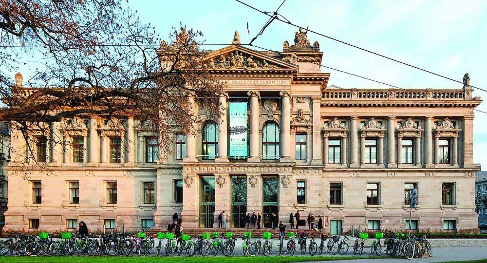Rehabilitación de la Biblioteca de la Universidad Nacional de Estrasburgo