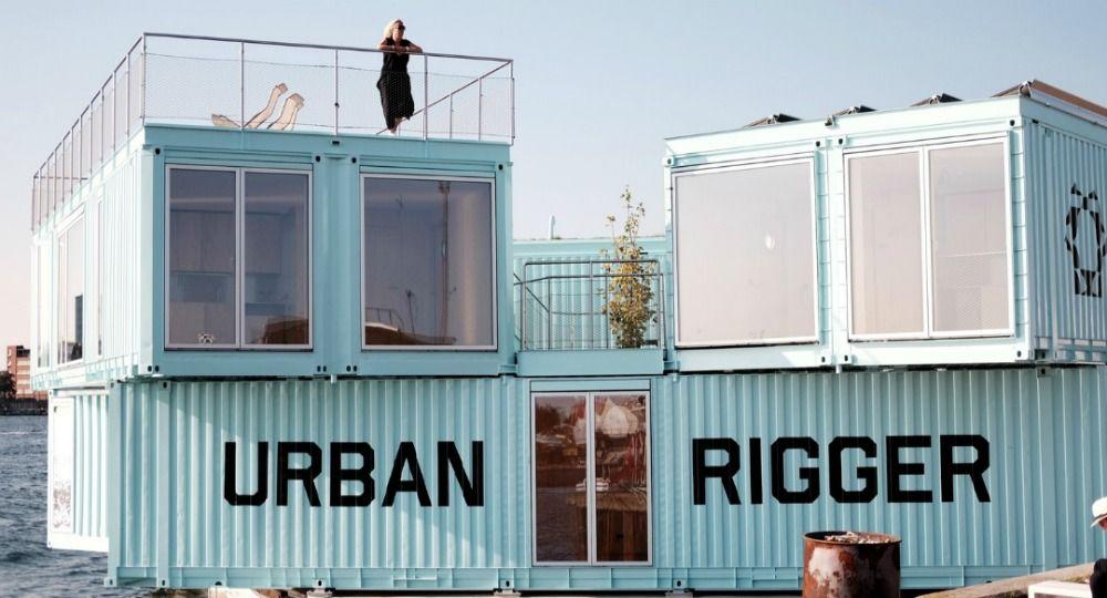 Proyecto Urban Rigger. Vivienda joven sostenible