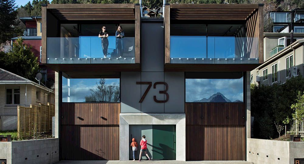 Arquitectura de montaña. Binoculars, Queenstown Hill, Nueva Zelanda. Assembly Architects Limited.Ar