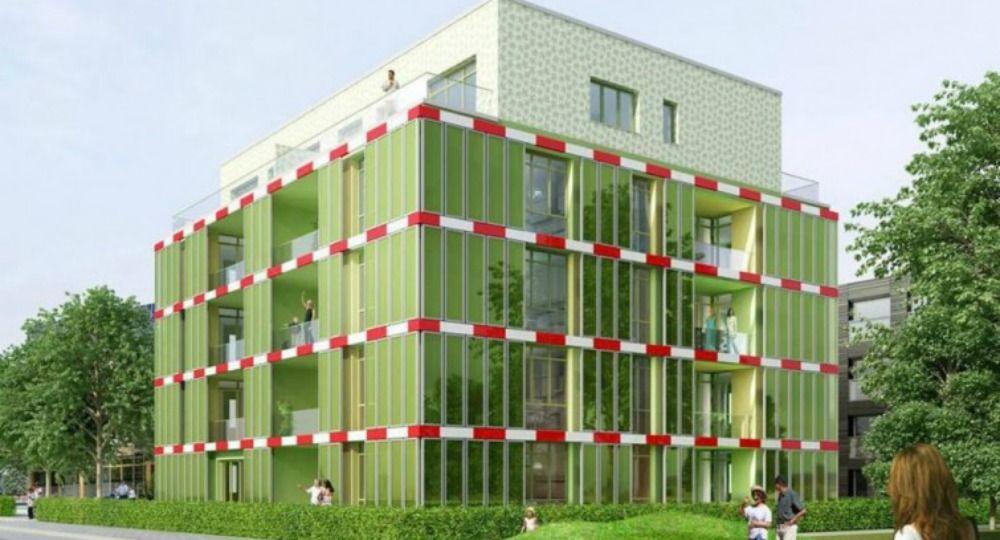 Edificio BIQ. Bioarquitectura Algae
