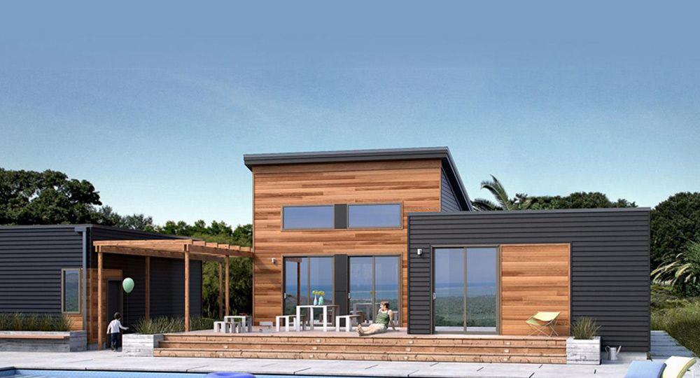 Vida sostenible en casas modulares blu homes arquitectura - Casas modulares de lujo ...