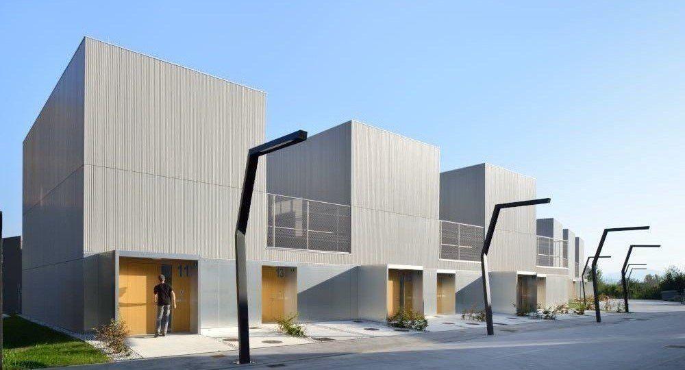 Conjunto residencial Brdo F6 de Bevk Perović Arhitekti