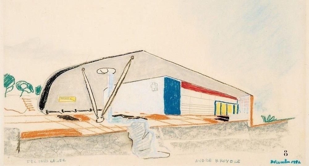 André Bruyère: arquitectura sensual contra la dictadura racionalista