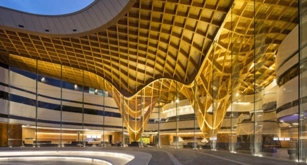 Bunjil Place, arquitectura híbrida para la ciudad de Casey, de FJMT