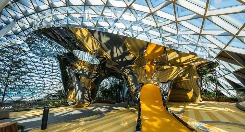 La arquitectura es juego: el área infantil del aeropuerto Jewel Changi de Singapur