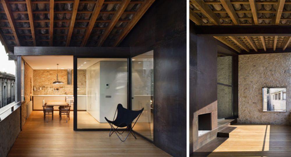 Casa Arrufat: arquitectura rehabilitada en el Centro Histórico de Gerona