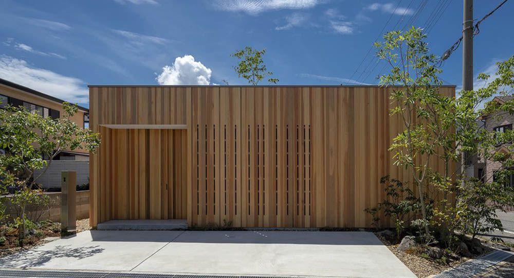 House in Akashi, un ejemplo de arquitectura residencial japonesa contemporánea. Arbol