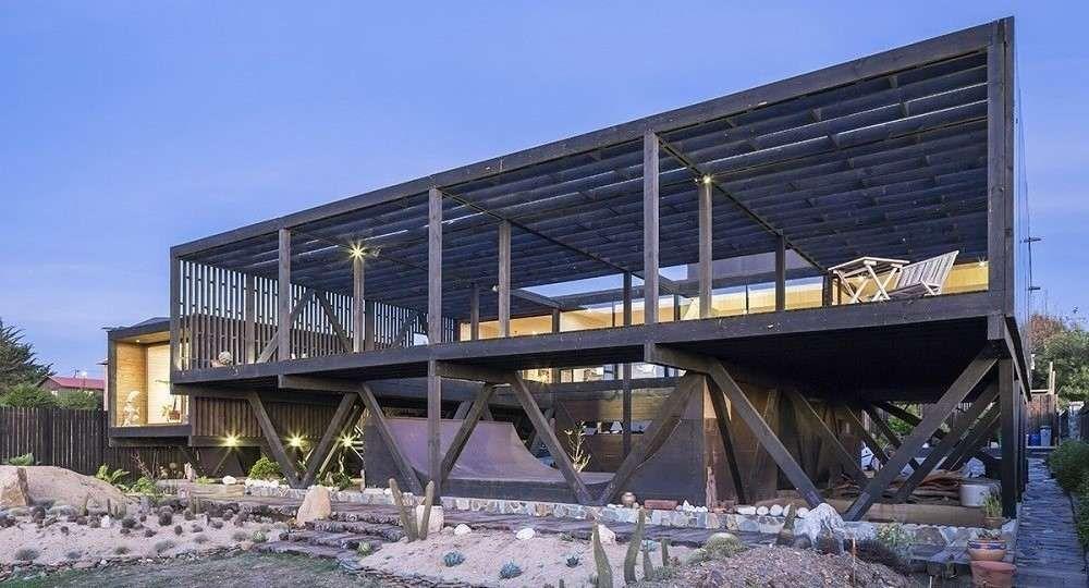Skate, surf y arquitectura: casa Merello, de WMR Arquitectos