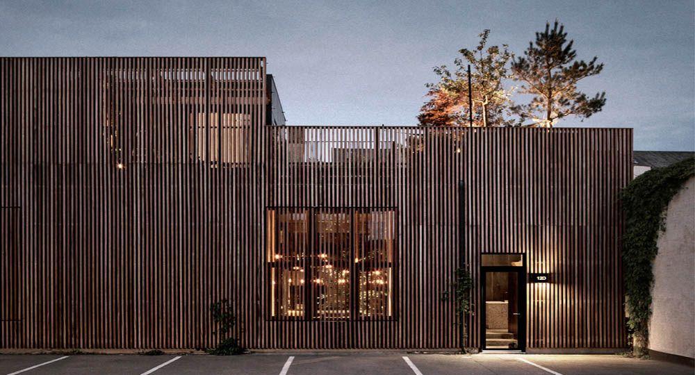 Arquitectura para Peter Krasilnikoff en una antigua fábrica de lápices, Copenhague.