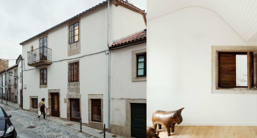 Casa do Medio de Arrokabe Arquitectos, una vivienda entre siglos