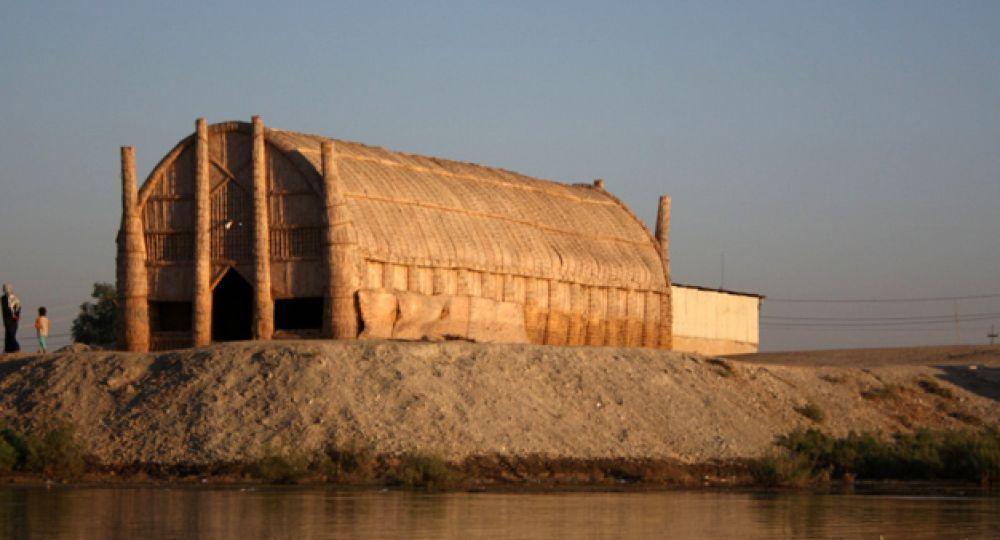 Casas Mudhif: arquitectura de paja, lodo y bambú