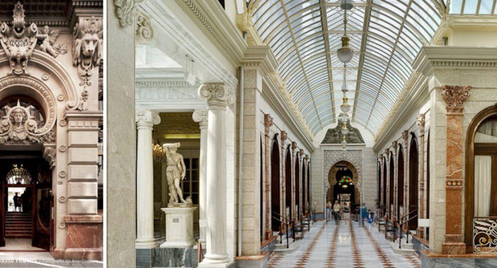 Real casino de murcia arquitectura ecl ctica arquitectura for Arquitectura eclectica