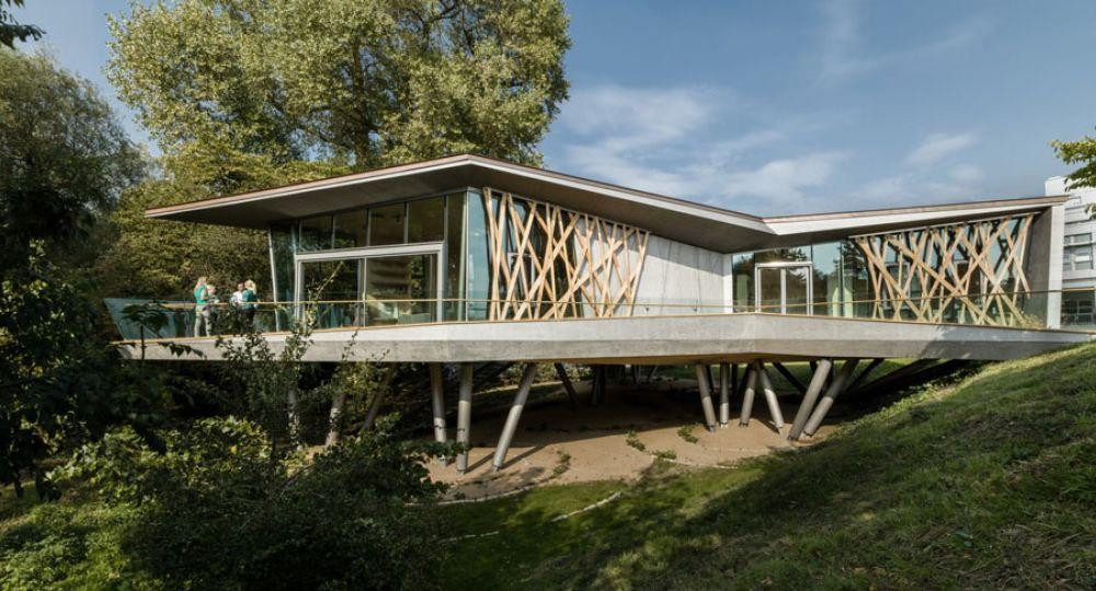 Centro Maggie de Oxford. Wilkinson Eyre Architects.