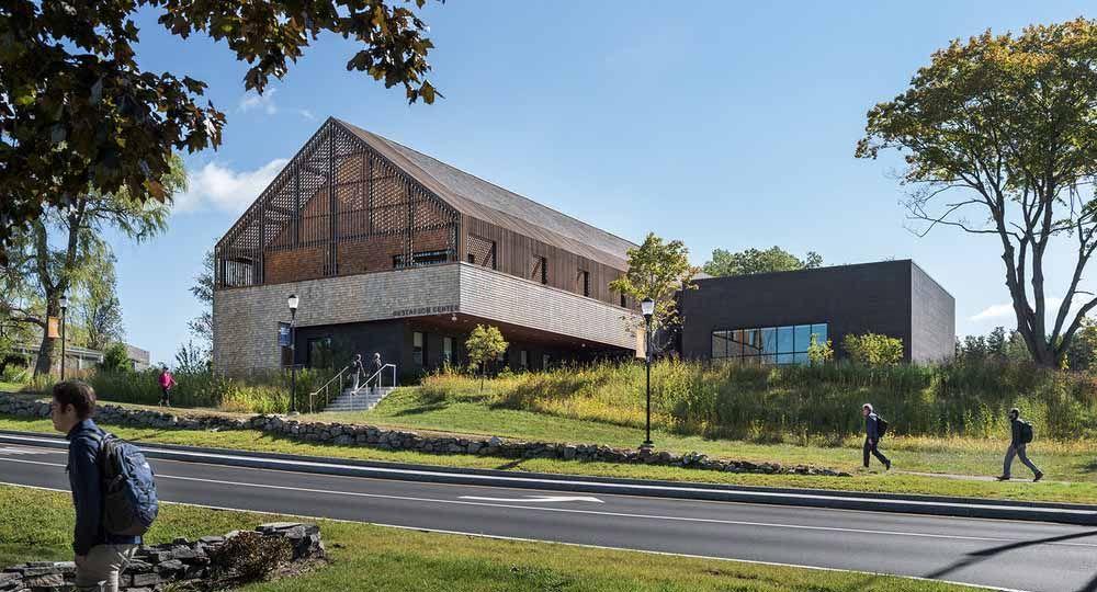 Los espacios educativos de Perry Dean Rogers Architects.