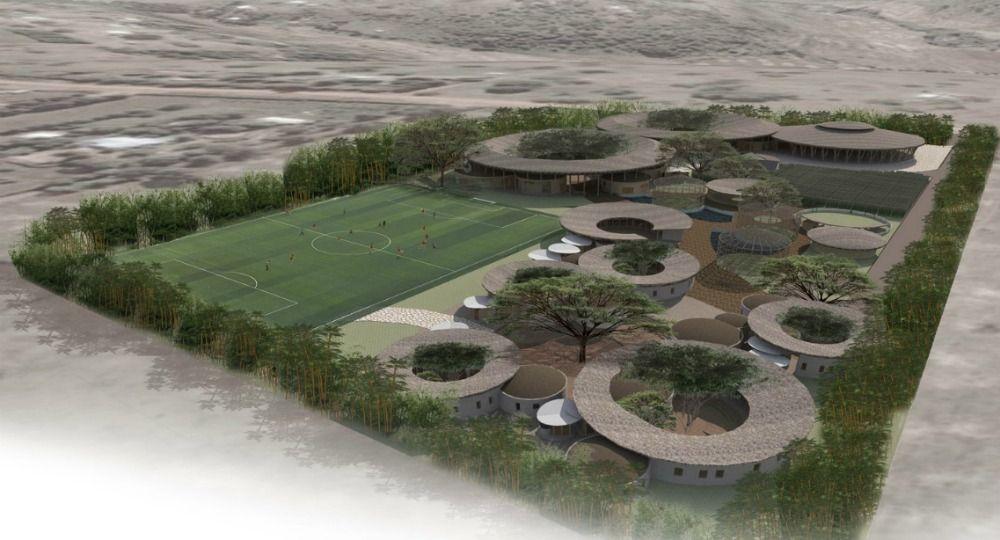 Concurso de arquitectura Children's Eco-Village. Edric Choo Poo Liang