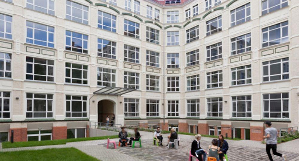 Global Institute, una fábrica convertida en residencia de estudiantes internacional