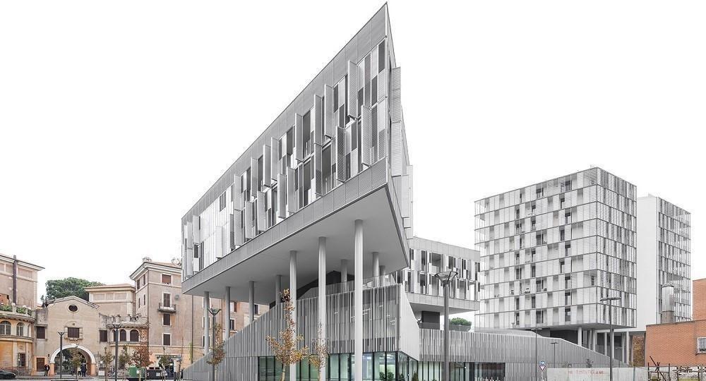 Arquitectura para regenerar la ciudad: Città del Sole en Roma, por Labics
