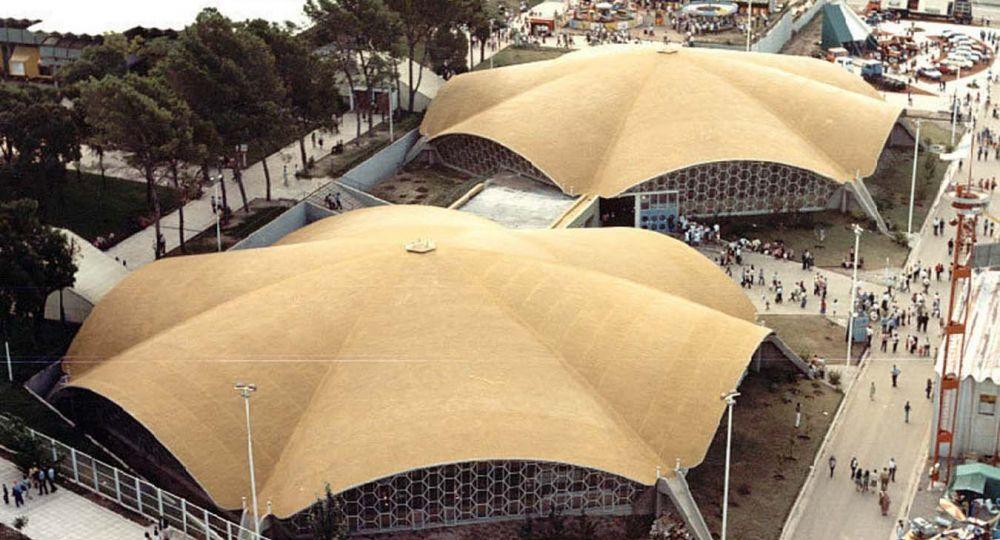 Conjunto arquitectónico del Complejo Ferial Córdoba. Argentina