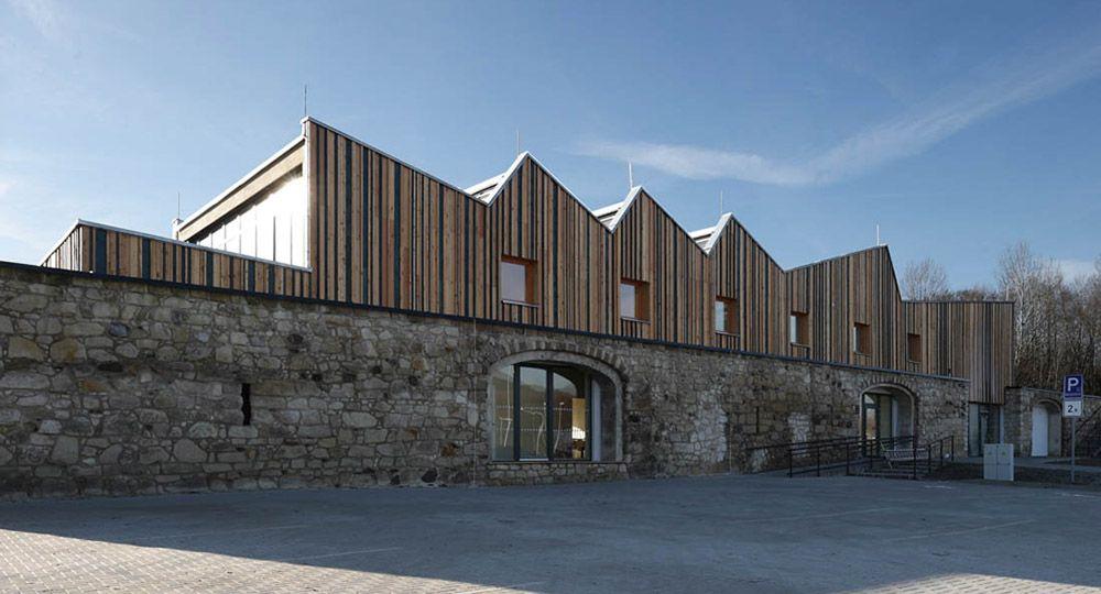 Tecnolog a de la madera arquitectura con clt arquitectura - Arquitectura en madera ...